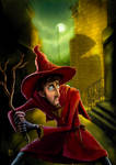 Discworld Rincewind in Ankh by a-discworld-guild