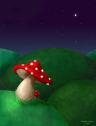 Mushroom Magic by Ardwynna-Morrigu