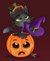 Pumpkitty by Sibsy