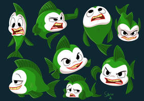Joker Fish by Sibsy