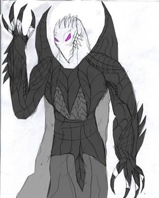Kalarias The Synthetic God (Colored) by grievousvsdarkahsoka