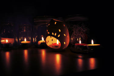 i heart candles by maugocha