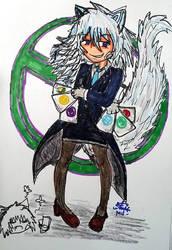 Genderbended jack Ace by amadarian