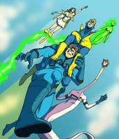 The Super Buddies by jtbrown