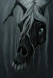 Kelpie Head by porcelianDoll
