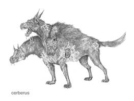 Cerberus redesign by porcelianDoll