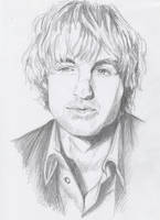 Owen Wilson sketchy portrait by The-Mattness
