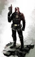 Judge Dredd by naratani