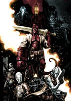 Hellboy and B.P.R.D. by naratani