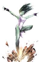 She-Hulk by naratani