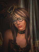 Steampunk girl by alexa-asta