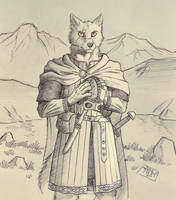 ''Daily'' sketch - Wolf by 0laffson