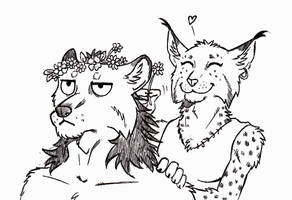 ''Daily'' sketch - Flower Crown by 0laffson