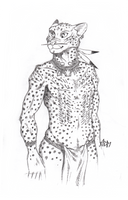 ''Daily Sketch'' - Scarred by 0laffson
