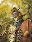 Leopard Warrior by 0laffson