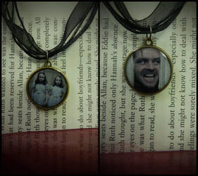 REDRUM double sided pendant by Ravenmorg