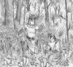 Sundew Pitcher Plant Bog by Zaphkiellane