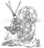 The first keeper MALKHUT by Zaphkiellane