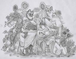 Hermiline's Garden by Zaphkiellane