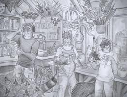 Laboratory by Zaphkiellane
