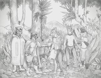 The Strange Folk by Zaphkiellane