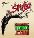 DESTRUCTOID STFUAJPG shirt by GuitarAtomik
