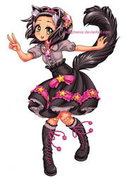 Catgirl Merlot by solipherus