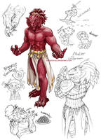 DnD dragonborn plz by solipherus