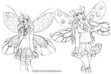 faery schoolgirls apparently by solipherus