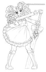 Sweet Lolita DnD Character by solipherus