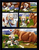 DTA- Cow Lick by BitsAndStitch