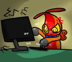 Omo VS Computer by Vanderdeer