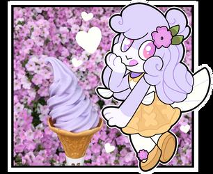 Ice Cream Kirby by Vanderdeer