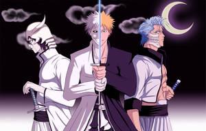 GJ, Ulq and Ichigo - Colored by Jojounin