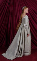 Italian Renaissance Gown: Back by Verdaera