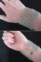 Chainmail Cuff Bracelet by Verdaera