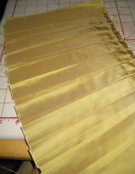 Petticoat Sneak - Pleating by Verdaera