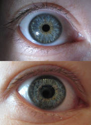 Eye Experiment by Verdaera