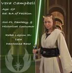 Vera's Jedi ID- 27 by Verdaera