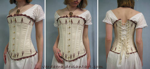 Victorian Corset by Verdaera