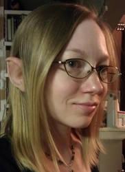 modelling hobbit ears by Verdaera