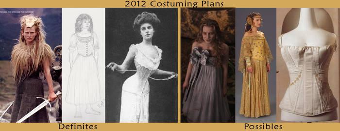 2012 Costume Resolutions by Verdaera