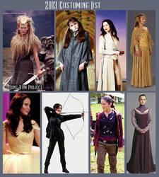 2013 Costume List by Verdaera