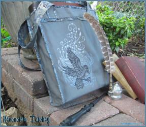 Ravenclaw Inspired Tote Bag by Verdaera