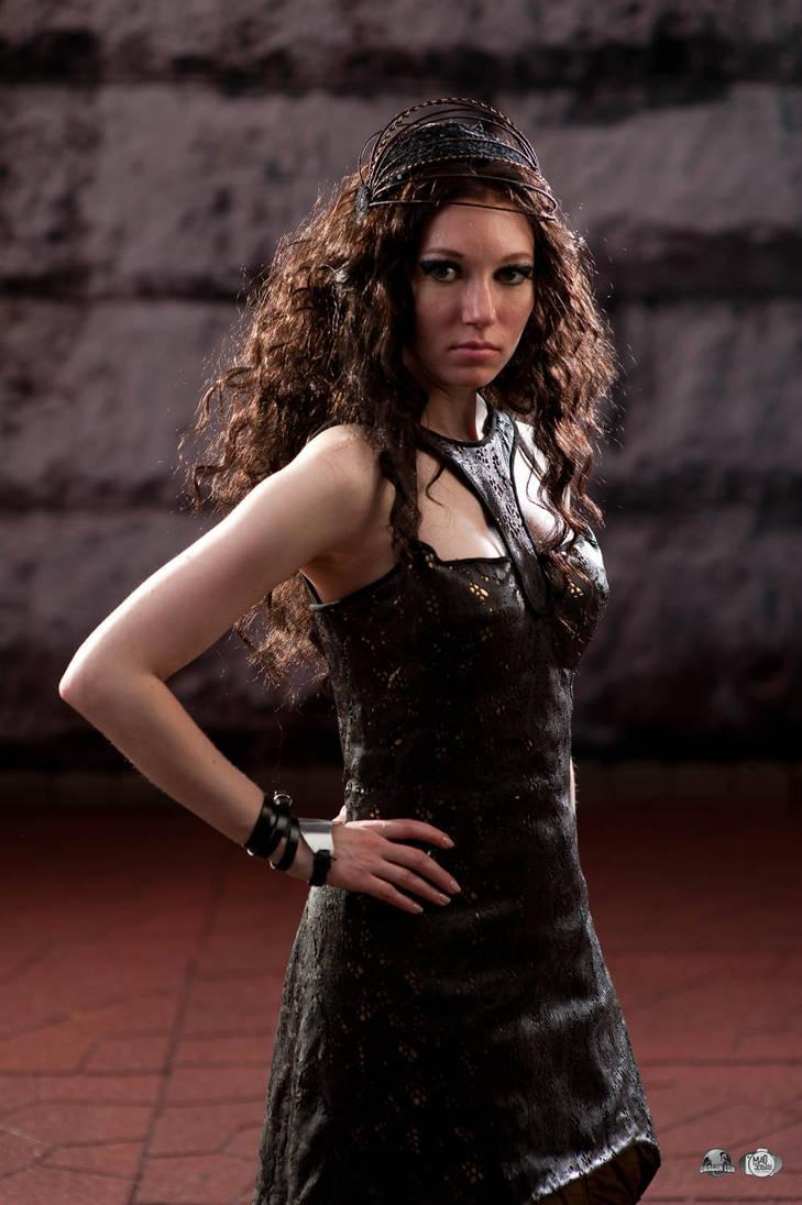 Katniss Everdeen: 75th Tribute Parade by Verdaera