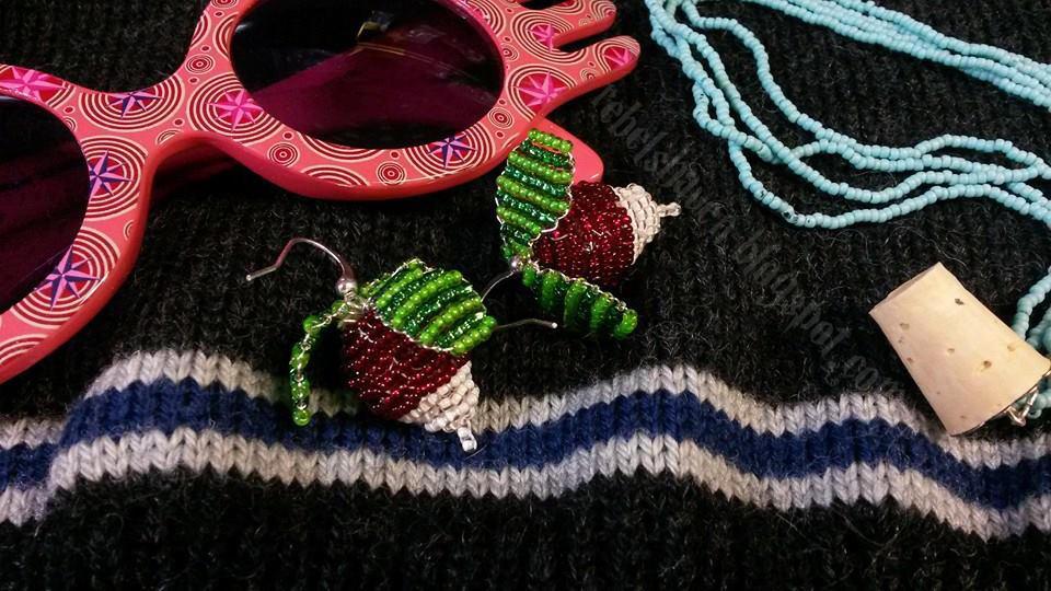 Luna's Radish Earrings by Verdaera