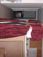 Elizabeth Swann Plum Gown by Verdaera