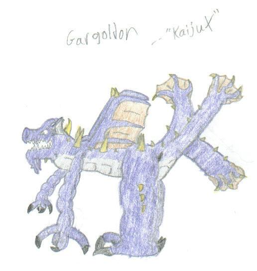 'Gargoldon' Draft by KaijuX