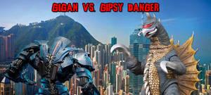 KWCE - Gigan (S) vs. Gispy Danger by KaijuX