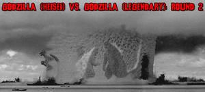 The KaijuX Canon - Godzilla vs. Godzilla Round 2 by KaijuX
